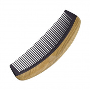 Handmade Natural Sandalwood Horns Comb, Anti-Static Hairdressing Massage Comb , dense teeth