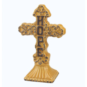 Medium Hope Ceramic Cross Pedestal
