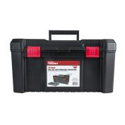 Hyper Tough HYST19341 Black 48cm Tool Box with Organiser