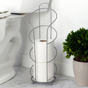 Chapter Premium Toilet Paper Holder, Satin Nickel