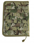 Militsry Forces Operational A5 (MOLLE) Tactical Holder - BTP Camouflage Pattern - Military Personnel Cadets Air soft Paintball