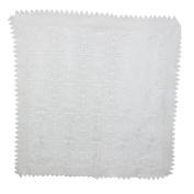 Rectangle Shape TV Television Cover Cloth 90 x 85cm White