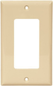 Cooper 5151V Ivory Unbreakable Single Gang Decorator Wall Plate