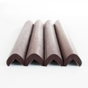 Prince Lionheart edgeGUARDS Straight, Pack of 4, Chocolate