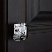 GlideRite Hardware Art Deco Acrylic Cabinet Square Knob