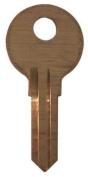Kaba Ilco 1678 Brass Key Blank, 1678 - Pack of 10