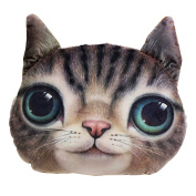 Stylish Cat Head Shape Cushion