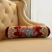 Baozengry The Living Room Sofa Bed Pillow Cushion And Pillow Headrest Backrest,Candy Pillow,The Beautiful Red Pillow Candy