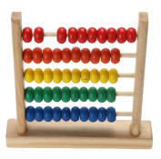Mini Wooden Abacus Children's Early Math Learning Toy Numbers Counting Calculating Beads Abacus Toy Educational Toy For Kids