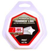 Arnold WLS-105 Universal Trimmer Line, For Use With Most Gas String Trimmers, Polymer