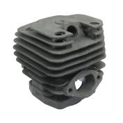 7.6cm x 7.6cm x 7.9cm Metal Chainsaw Cylinder 130cm for Brush Cutter