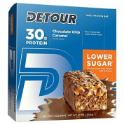 Forward Foods Detour 85 g Chocolate Caramel High Protein Meal Bars - Box of 12