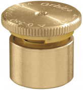 Orbit 53574 Adjustable Pop Up Spray Head Nozzle, 4.6m Spray Distance, Brass, Metallic