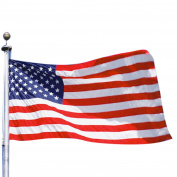 Insten 0.9m x 1.5m 0.9m x 1.5m USA US U.S. American Flag Stars Grommets America United States Polyester