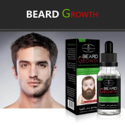 IGEMY Men Liquid Beard Growth Fast Enhance Facial Whiskers Nutrition Moustache
