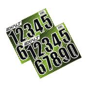 Exalt Paintball Loader Number Stickers - Black