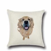 Pet Dog Pillow Cartoon Pillowcases,Aritone Throw Pillow Case Square Cushion Cover Home Sofa Decor 40cm40cm
