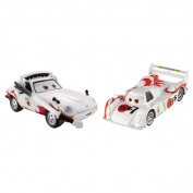 Disney/Pixar Cars Collector Die-Cast Shu Todoroki and Mach Matsu 2-Pack