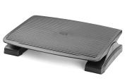 Halter F7012 Premium Ergonomic Adjustable Angle Foot Rest - 35cm X 45cm - Black