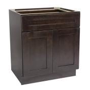 Design House 561985 Brookings 80cm Base Cabinet, Espresso Shaker