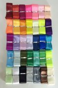 Satin Ribbon 35 Colours X 2 Yard Each Total 70 Yds Per Package