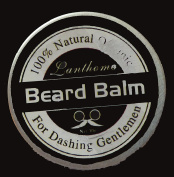 Lanthome Natural Organic Beard Balm for Men - Medium Hold Beard Wax for Styling - Non Greasy - Deep Beard Conditioner - Promotes Beard Growth and Shine - Stop Beard Itch and Flakes
