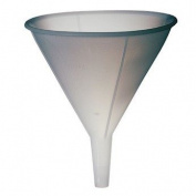 High-density polyethylene utility funnel, 470ml