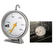 Itian Stainless Steel Oven Thermometer, Baking Supplies With Hanging Hook To Make Baking Easy