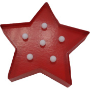 LED Marquee Star, Red