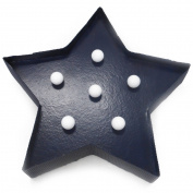 LED Marquee Star, Blue