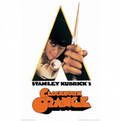 A Clockwork Orange- A Stanley Kubrick Movie Poster 60cm x 90cm