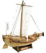 "WoodyJOE ""Higaki Kaisen"" Edo Period Sailing Ship"