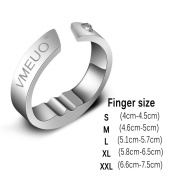 Snore Stopper, Anti Snoring Acupressure Anti Snoring Ring Sleeping Breath Acupressure Treatment Stop Snore Device
