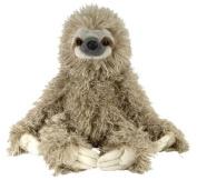 """Three Toed Sloth 12"""" Plush Toy Cuddlekins by Wild Republic"""