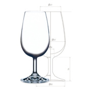 / of INAO tasting glass 210cc 6