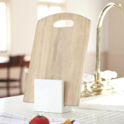 Carre cutting board stand carry white 7314 _