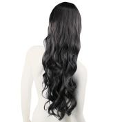 Women Fashion Style Wavy Curly Long Hair Full Wigs