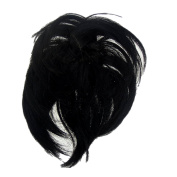 New Style Hair Extension Scrunchie Almost Black Bun Up Do Down Do Spiky Twister