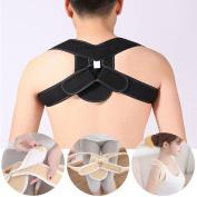 G-Smart Orthosis Corset Back Brace Posture Correction Shoulder Brace Posture Upper Back Support Corrector for Men Women Child Size L