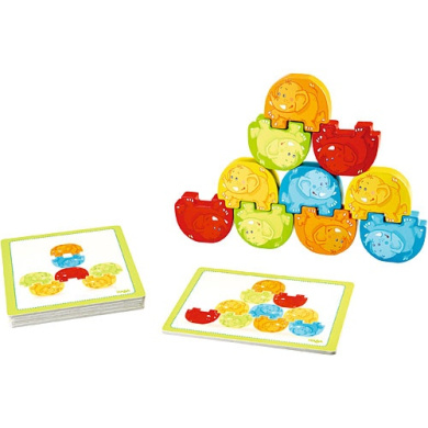 Group exercises | of the toy HABA company elephant of the building block block birthday birthday present tree Children baby baby baby gift Germany 2 years old . old 4 years old birth celebration building block Tsumiki toy cognitive education toy
