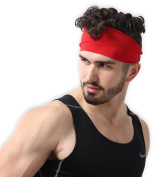 Mens Headband - Guys Sweatband & Sports Headband for Running, Working Out and Dominating Your Competition - Performance Stretch & Moisture Wicking