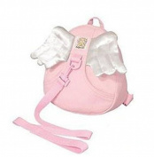 COFCO Toddler Safety Harness Kid Baby Backpack Reins Harnesses - Angel-Pink