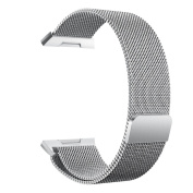 Hongxin Luxury New Magnetic Milanese Loop Stainless Steel Magnet Lock Band For Fitbit Ionic
