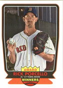 2017 Topps Heritage High Numbers Award Winners #AW-1 Rick Porcello Boston Red Sox Baseball Card