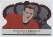Sergei Fedorov (Hockey Card) 2000-01 Pacific Crown Royale - [Base] - Red #38