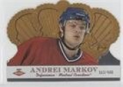 Andrei Markov #/400 (Hockey Card) 2000-01 Pacific Crown Royale - [Base] #129
