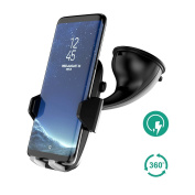 Wireless Car Charger, Auckly Qi Fast Wireless Charger Car Phone Holder,With Type C Cable Port Car Mount Air Vent Stand Fast Car Charging Pad for Samsung Galaxy Note 8 S8 Plus S8 S7 S7 Edge Note 5 etc
