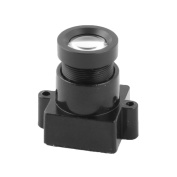 """sourcingmap® Focal Length 16mm F2.0 1/3"""" Replacement Board Lens for CCTV Camera"""
