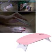 LED Nail Lamp, Ochine Mini Nail Dryer GEL Nail Polish Professionally Portable Art Manicure Tools