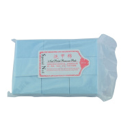 111gram/bag Solid Durable Lint-Free Wipes 100% Cotton Nail Tools Bath Manicure Gel Nail Polish Remover Blue